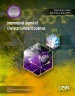 View Vol. 2 No. 1 (2019): International Journal of Chemical & Material Sciences