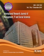 International research journal of management, IT & social sciences